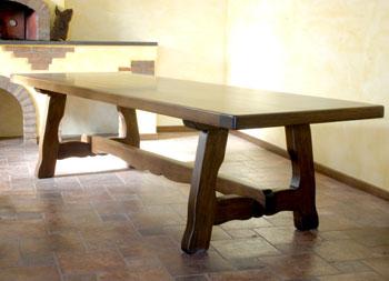 Tavoli Da Cucina In Legno Arte Povera